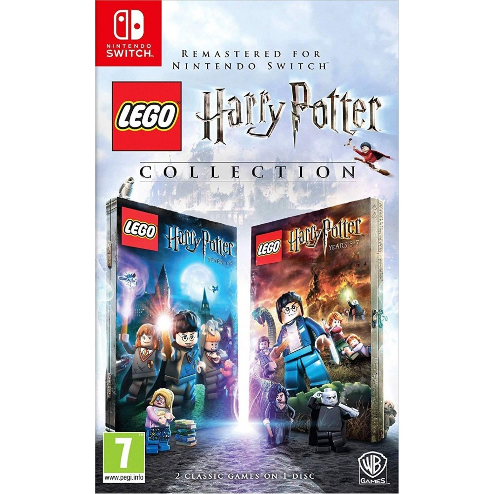 SWITCH LEGO Harry Potter Collection Years 1-4 & 5-7