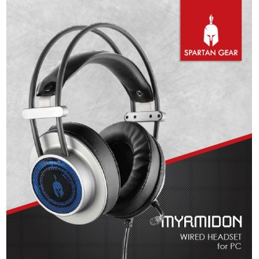 Spartan Gear Myrmidon 2 Wired Headset PC, PS4, XBOX ONE