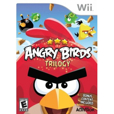 WII Angry Birds Trilogy - LIETOTS