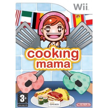 WII Cooking Mama LIETOTS