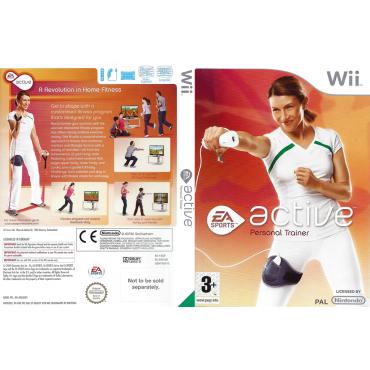 WII EA Sports Active Personal Trainer - LIETOTS (tikai spēle)