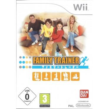 WII Family Trainer - LIETOTS (bez paklāja)
