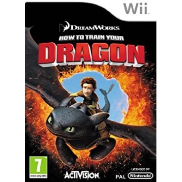 WII How to Train Your Dragon - LIETOTS