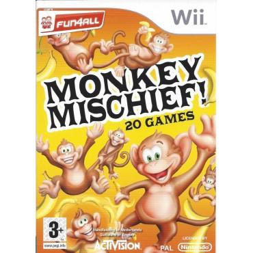 WII Monkey Mischief! 20 Games - LIETOTS