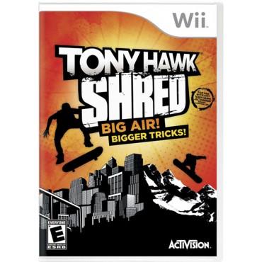 WII Tony Hawk Shred LIETOTS