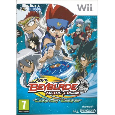 WII BEYBLADE METAL FUSION