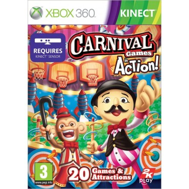XBOX 360 Carnival Games: Action! Kinect - LIETOTS