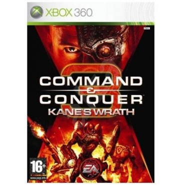 XBOX 360 Command & Conquer 3: Kane's Wrath - LIETOTS