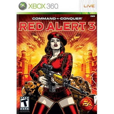 XBOX 360 Command and Conquer: Red Alert 3 LIETOTS