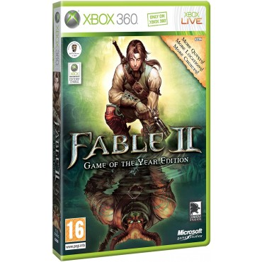 XBOX 360 Fable II 2 - Game of the Year Edition - LIETOTS
