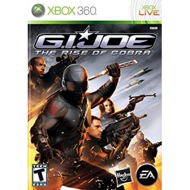 XBOX 360 G.I.JOE The Rise of Cobra LIETOTS