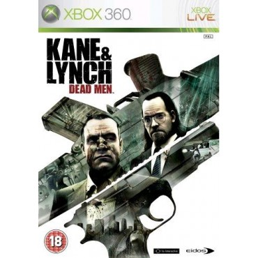 XBOX 360 Kane & Lynch: Dead Men - LIETOTS