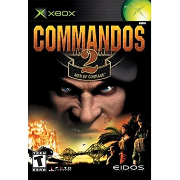 XBOX Commandos 2: Men of Courage - LIETOTS