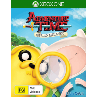 XBOX ONE Adventure Time: Finn & Jake Investigations - LIETOTS