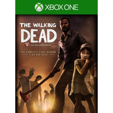 XBOX ONE The Walking Dead: The Complete First Season - Plus 400 Days - LIETOTS