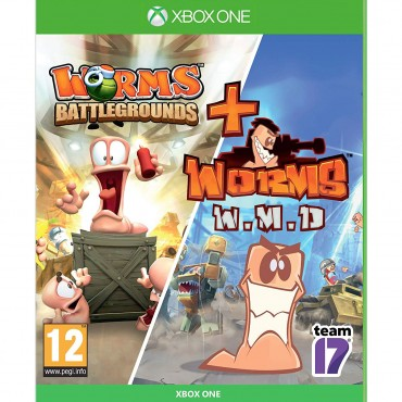 XBOX ONE Worms Battlegrounds + Worms WMD - Double Pack