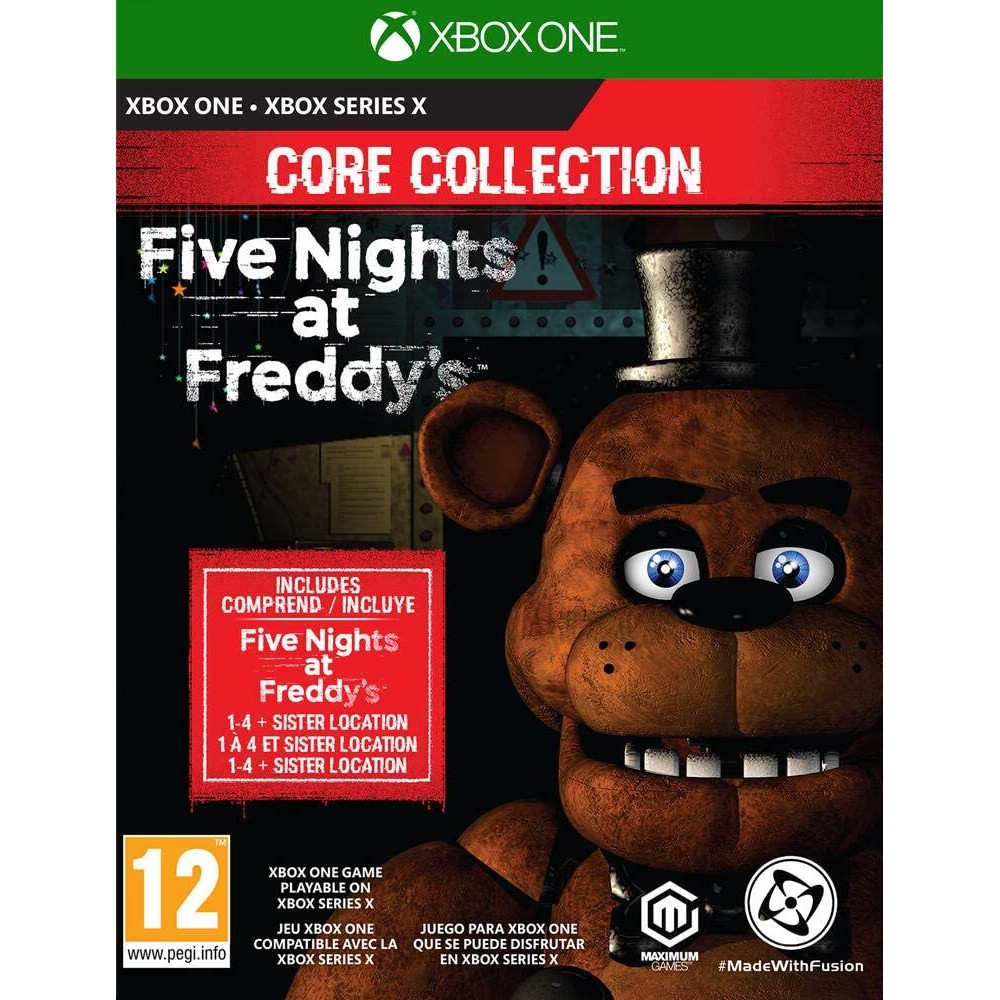 XBOX ONE / XSX Five Nights at Freddy's - Core Collection