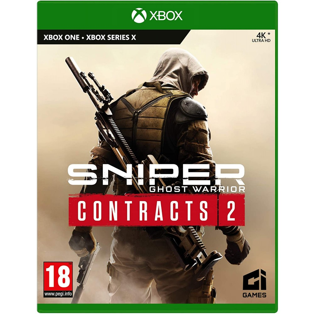 XBOX ONE / XSX Sniper Ghost Warrior Contracts 2