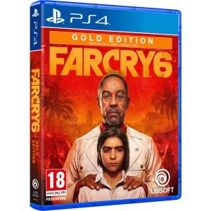 PS4 Far Cry 6 - Gold Edition (Season Pass + Far Cry 3: Blood Dragon)