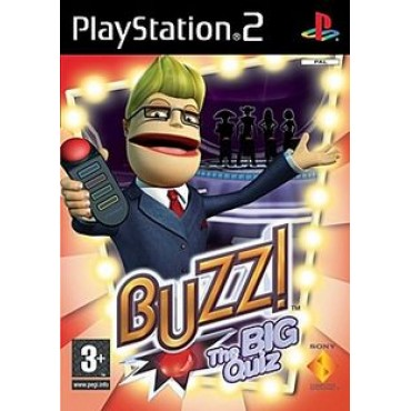 PS2 BUZZ! THE BIG QUIZ