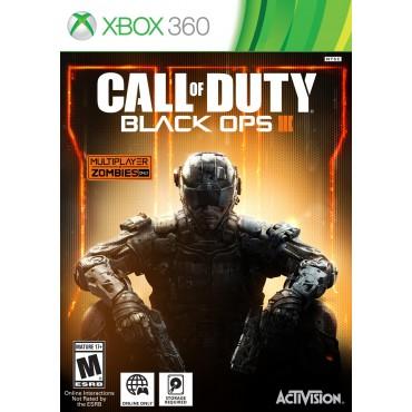 XBOX 360 CALL OF DUTY : BLACK OPS III