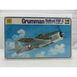 Otaki Grumman Hellcat F6F-3 1/48 Scale Model
