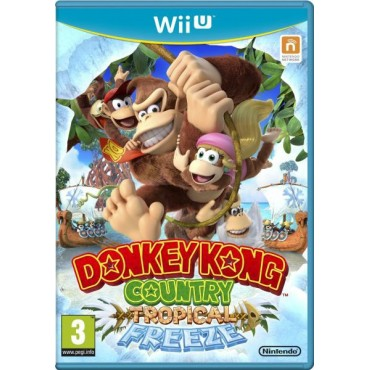 WII U DONKEY KONG COUNTRY TROPICAL FREEZE LIETOTA