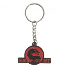 Mortal Kombat - Logo Metal Keychain