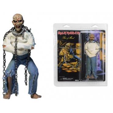 IRON MAIDEN CLOTHED PIECE OF MIND EDDIE ACTION FIGURE