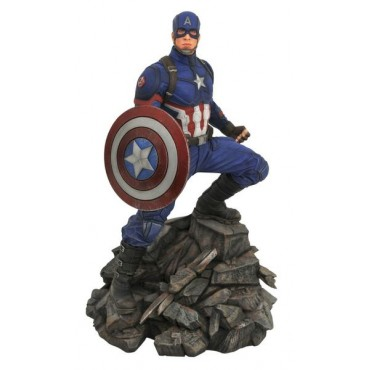 Diamond Select Toys: Marvel Premiere Collection Avengers 4 - Captain America Resin Statue