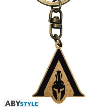ASSASSIN'S CREED CREST ODYSSEY METAL KEYCHAIN