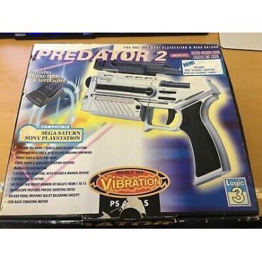 PREDATOR 2 LIGHT GUN FOR PS1 / SEGA SATURN