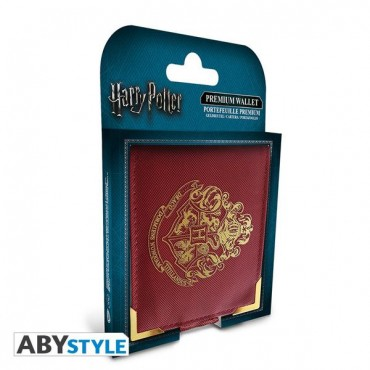 "Harry Potter - ""Golden Hogwarts"" Premium Wallet"