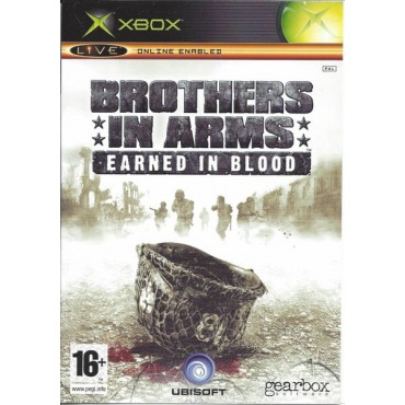 XBOX BROTHERS IN ARMS EARNED IN BLOOD LIETOTA