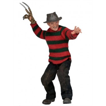 A NIGHTMARE ON ELM STREET PART 3 - DREAM WARRIORS FREDDY CLOTHED ACTION FIGURE (20cm)