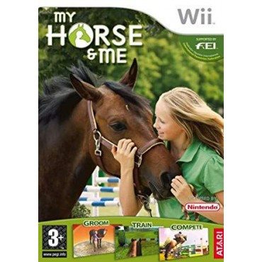 NINTENDO WII MY HORSE AND ME LIETOTS