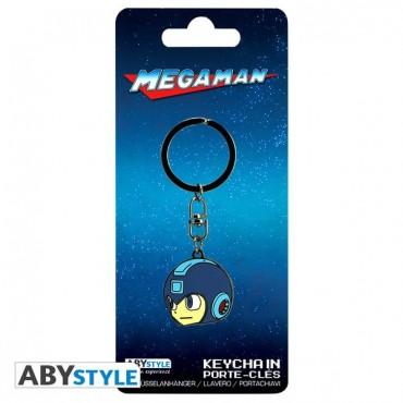 "Abysse Megaman - ""Megaman'S Head"" Metal Keychain"