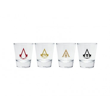 "Abysse Assassin's Creed - ""Emblems"" Shot Glass"