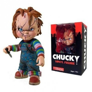 CHUCKY GOOD GUY STYLIZED ROTO FIGURE (15cm)
