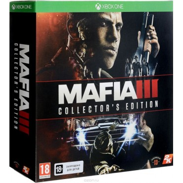 XBOX ONE Mafia III Collectors Edition