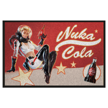 FALLOUT NUKA COLA PIN UP DOORMAT