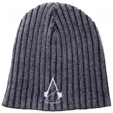 ASSASSINS CREED UNITY - ABPUSĒJA CEPURE (PELĒKA) REVERSIBLE (GREY) BEANIE
