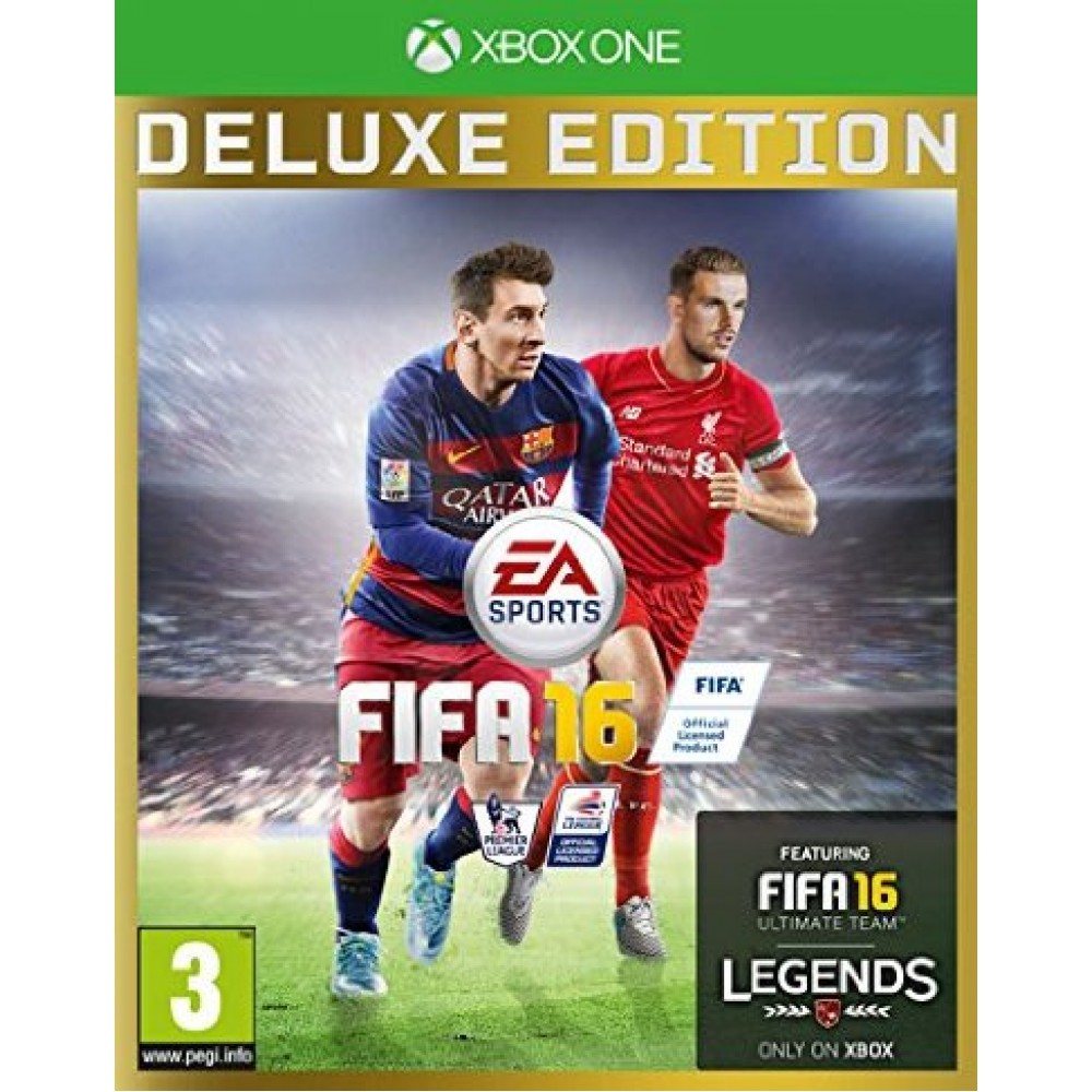 XBOX ONE FIFA 16 DELUXE EDITION