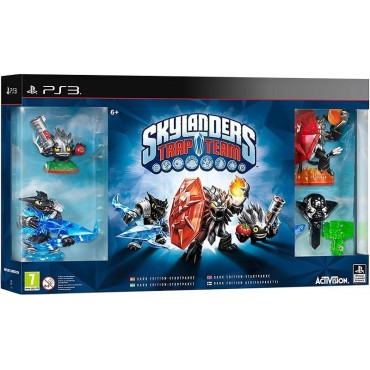 PS3 SKYLANDERS TRAP TEAM DARK EDITION STARTER PACK