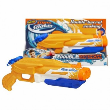 NERF SUPER SOAKER DOUBLE DRENCH ŪDENSPISTOLE
