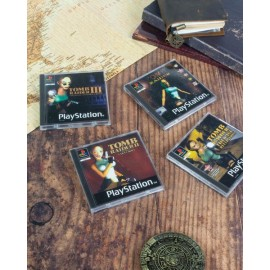 Numskull - Original Tomb Raider PS1 Retro Coasters / GLĀŽU PALIKTŅI