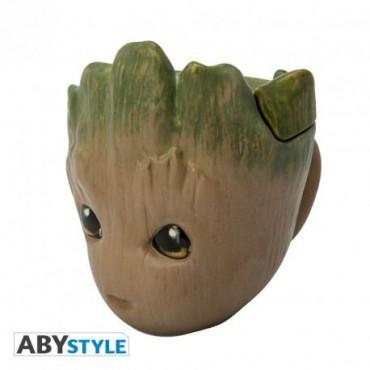 Abysse Marvel - Groot 3D Mug /KRŪZE