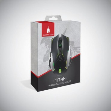 PC Spartan Gear Titan Wired Gaming Mouse