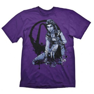 "Gaya Borderlands 3 - ""Amara"" Dark Purple T-Shirt - Size XL"