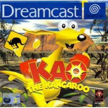 SEGA DREAMCAST KAO THE KANGAROO LIETOTS